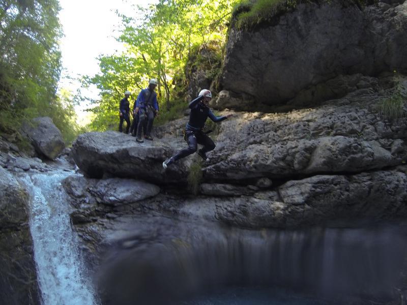 Canyoning Frankrijk vakanties