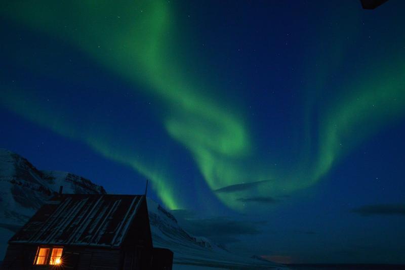 Noorderlichtreis Spitsbergen