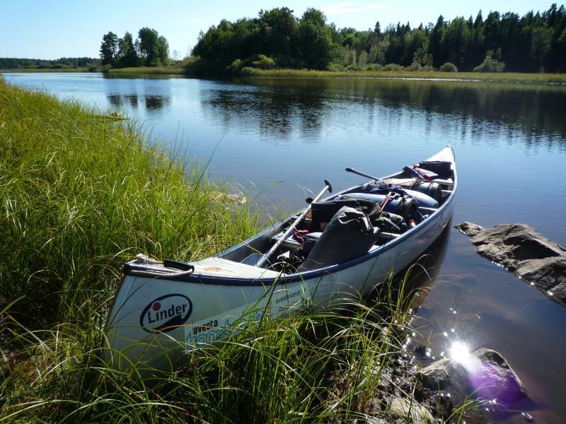 Zweden reis kano